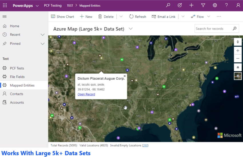 Azure Maps PCF Control