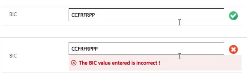 BIC Validator