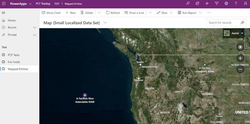 Bing Maps PCF Control