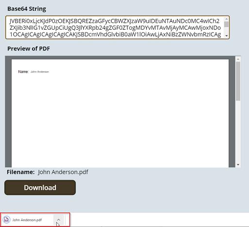 Canvas File Downloader