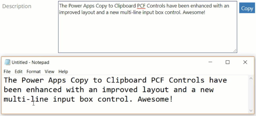 Copy To Clipboard Component