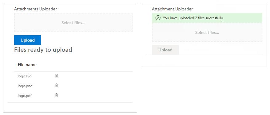 Drag and Drop File Uploader