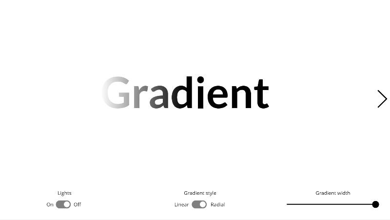 Gradient Text
