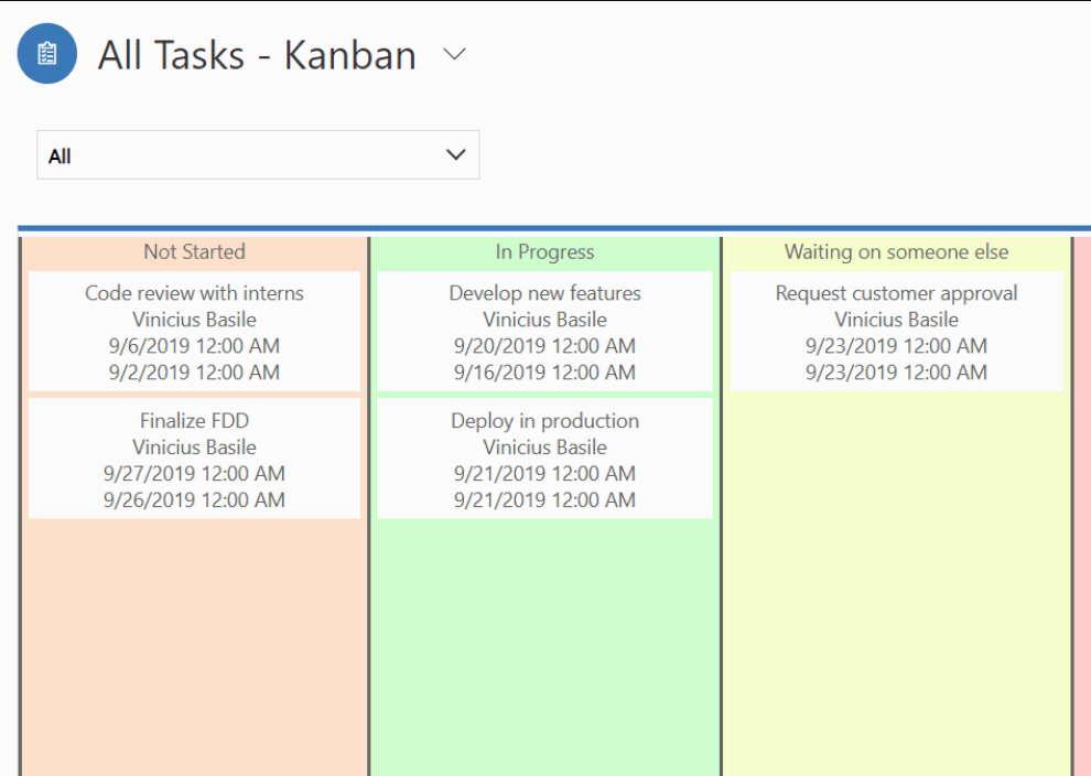 Status Reason Kanban