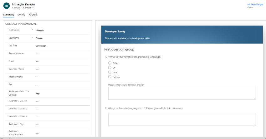 Survey Management