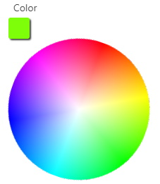 Wheel Color Picker